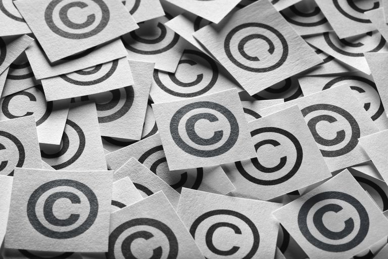 use of copyright symbol